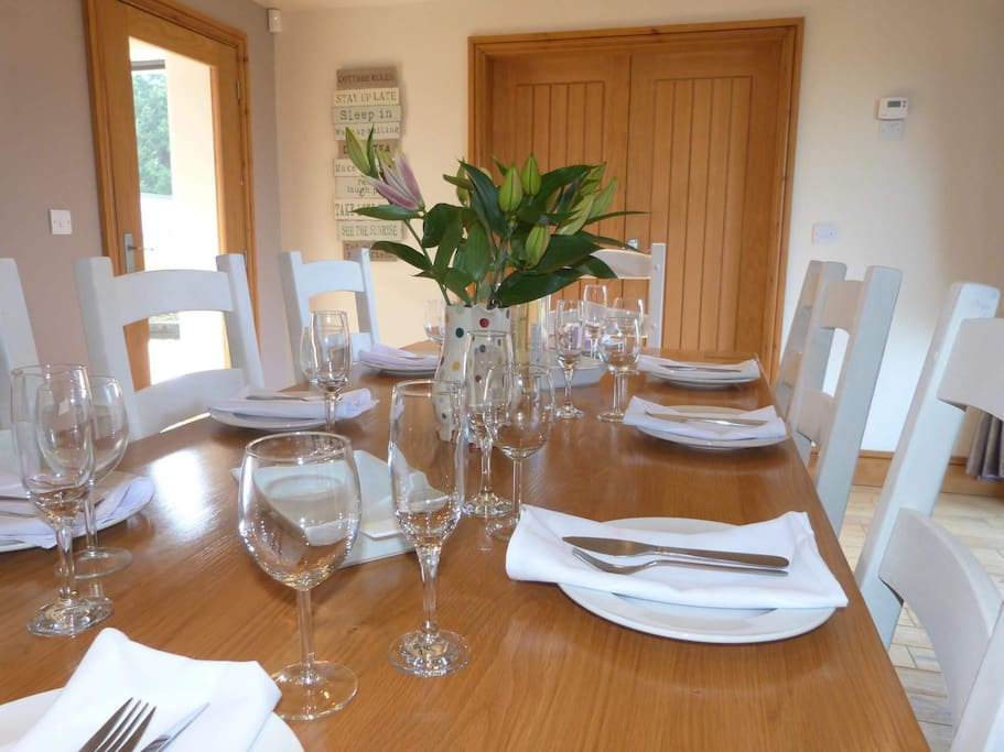 Dinning Room with seating for 8 guests