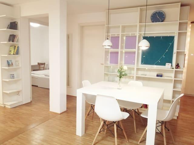 Genieße das Französische Viertel! 80 qm-Wohnung