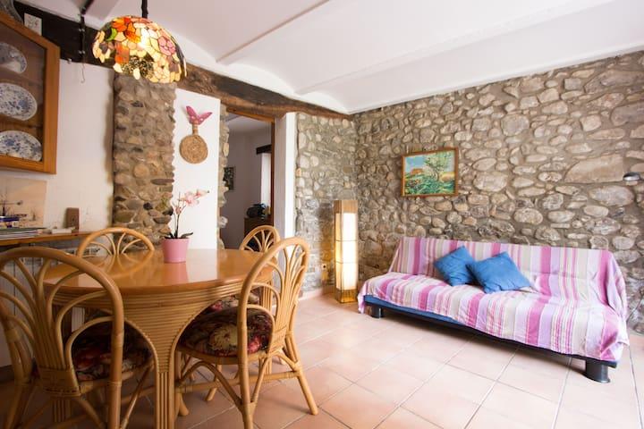 Acojedor apartamento en plena Garrotxa - Argelaguer - Selveierleilighet