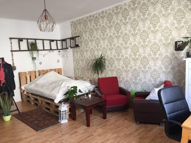 big, cozy room in central Berlin