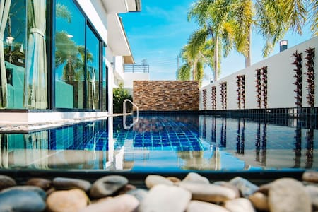Modern premium villa with private swimming pool