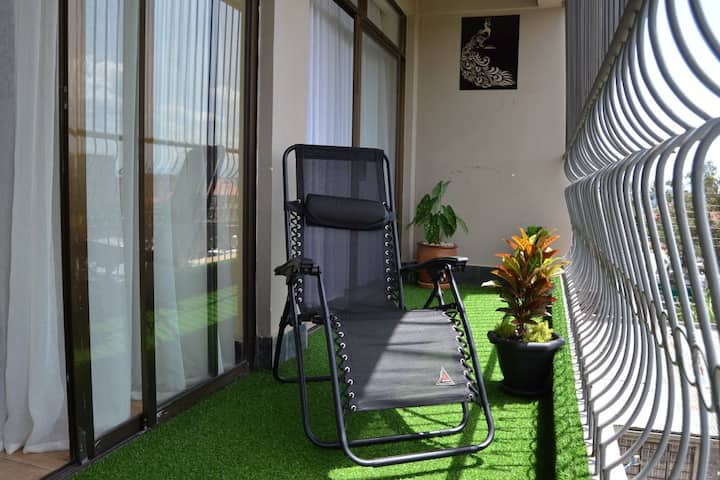 Tastefully furnished two bedroom apartment