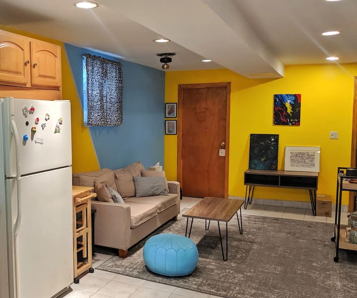 Warm, Cozy, Garden Apt Near Botanical Gardens