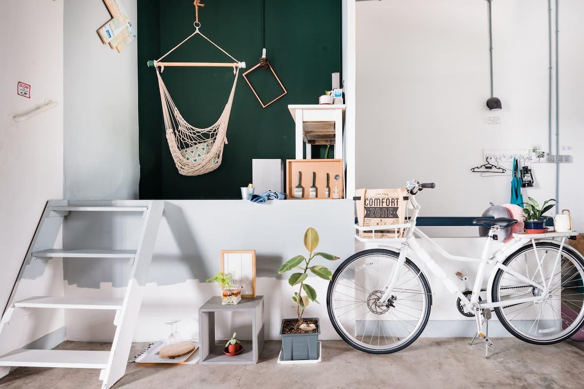 Hidden Gem Gallery Inspired Rustic Studio Apartment