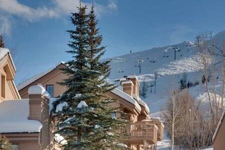 Snowcreek - Base of Dollar - Walk to Sun Valley! - Sun Valley - Apartment