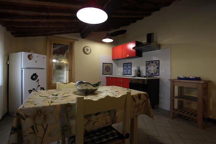 LAST MINUTE: apartment Il Poggetto in old village - Sassetta - Leilighet