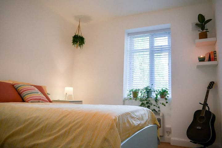 Cosy bedroom in the earth of Ballsbridge