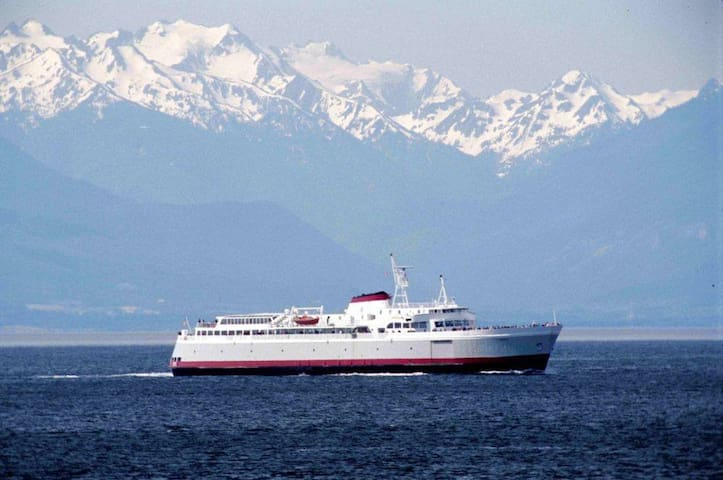 Must Do: Take the Black Ball Ferry to Victoria, BC as part of your trip to the Olympic Peninsula.  Remember to bring your passports!