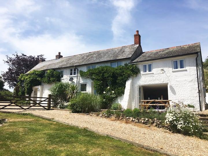 Hill  Farm House, Jurassic Coast Dorset