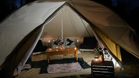 Meadow Escape Glamping Tent 4