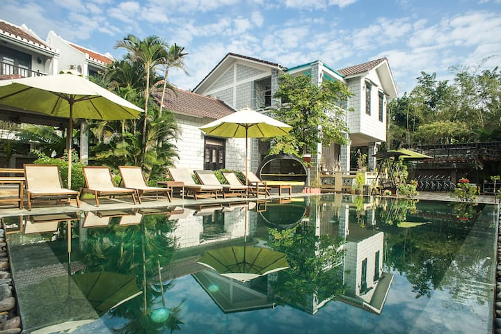 Double room with breakfast - Mr Tho Garden Villas