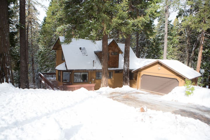 Peaceful Retreat close to Skiing - Twain Harte - Hus