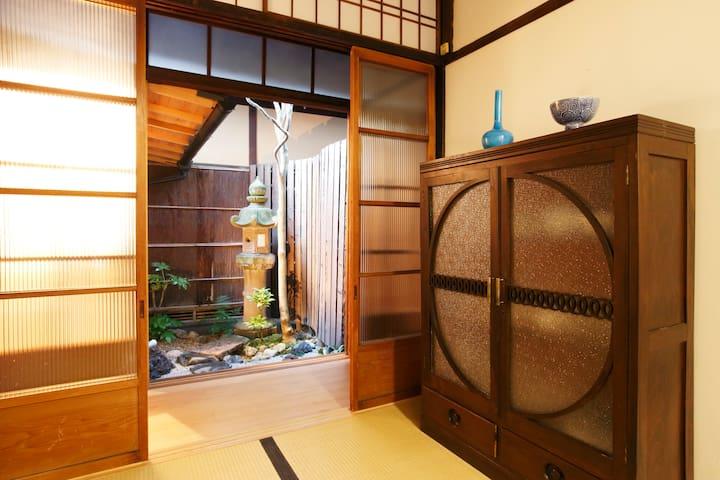 Traditional Japanese house near Kiyomizu-temple