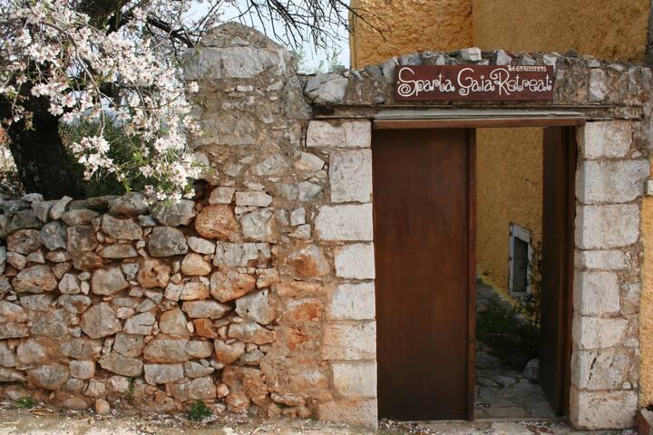 Sparta Gaia, gate entrance