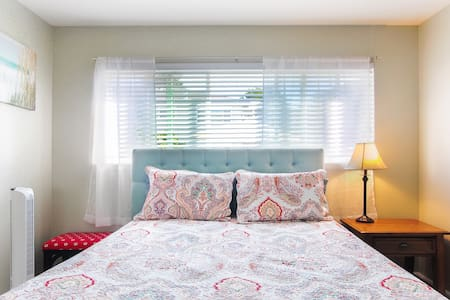 Private cozy bedroom with pool view - Menlo Park - Wohnung