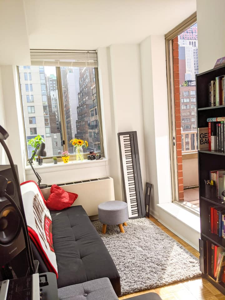 Entire one bedroom apartment near Times Square