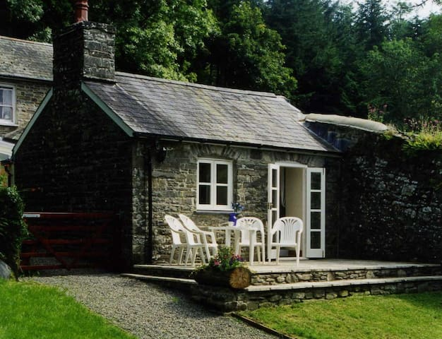 Beautiful West Wales listed stone cottage
