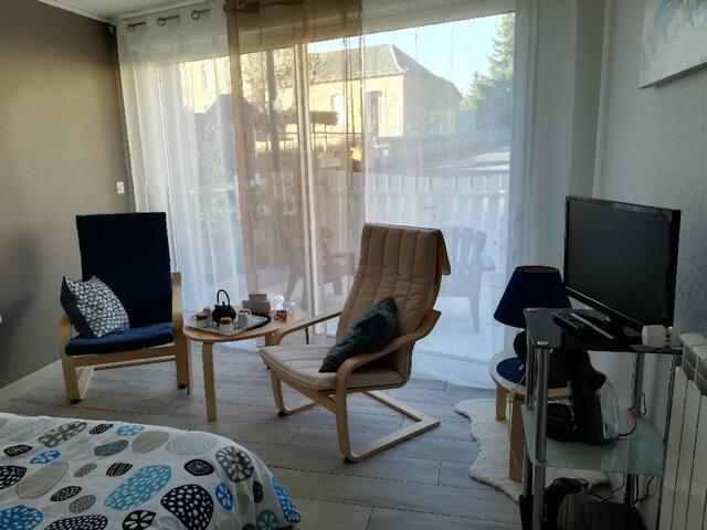 Ruynes-en-Margeride : chambre d'hôte indépendante