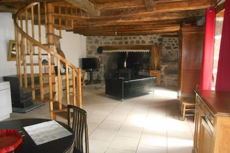 Maison à Fontanges cité medièvale proche de Salers - Saint-Martin-Valmeroux