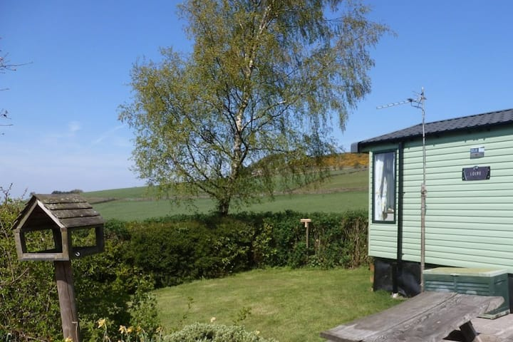 Modern Static Caravan at Shaw Farm