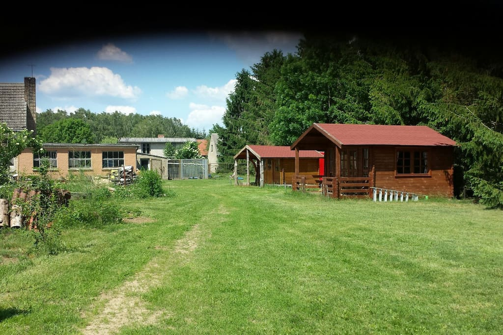 Another view of our cabins and surrounding area.