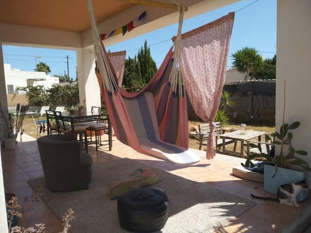 Habitacion privada con baño en chalet en Ibiza