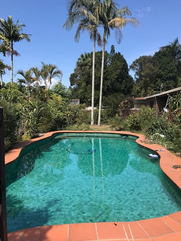 Peaceful and happy home in Mullumbimby