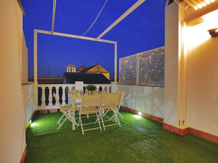 Casa con terraza San Fernando