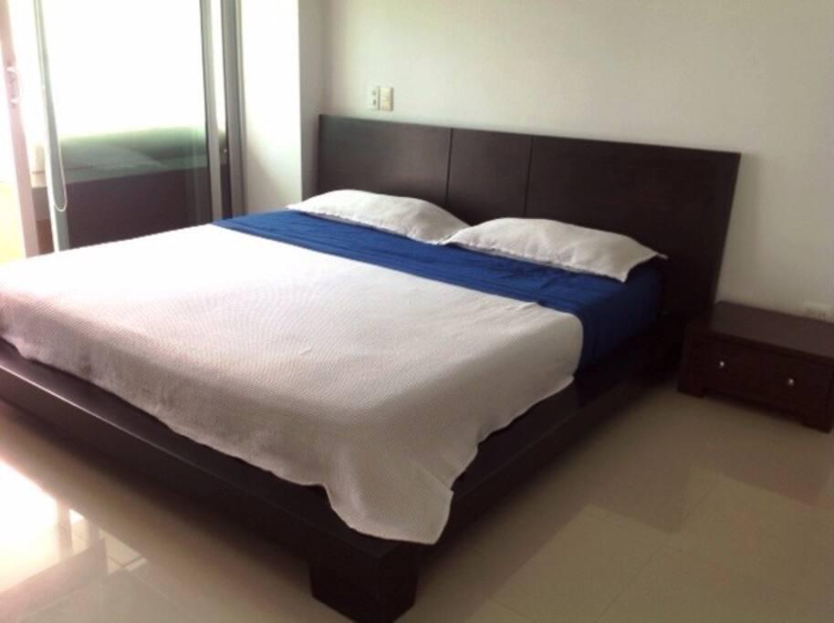Habitación, cama superking