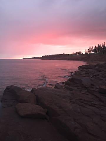 Beautiful sunsets...