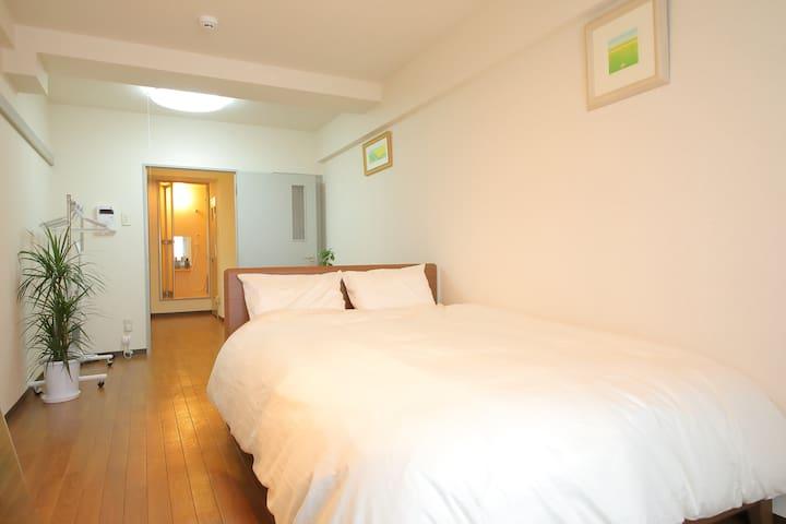 6 min -Sapporo Sta./Cozy Modern Room(801)