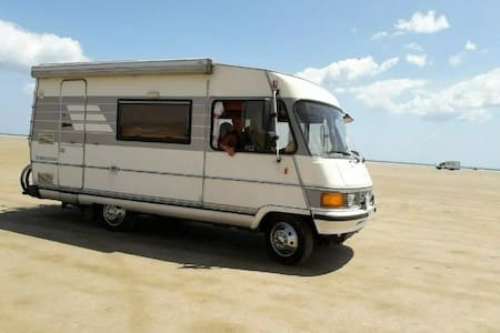 Horace - A wonderful, classic Hymer motorhome