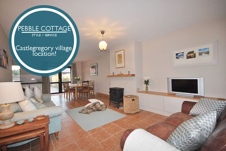 PEBBLE COTTAGE - Castegregory Village