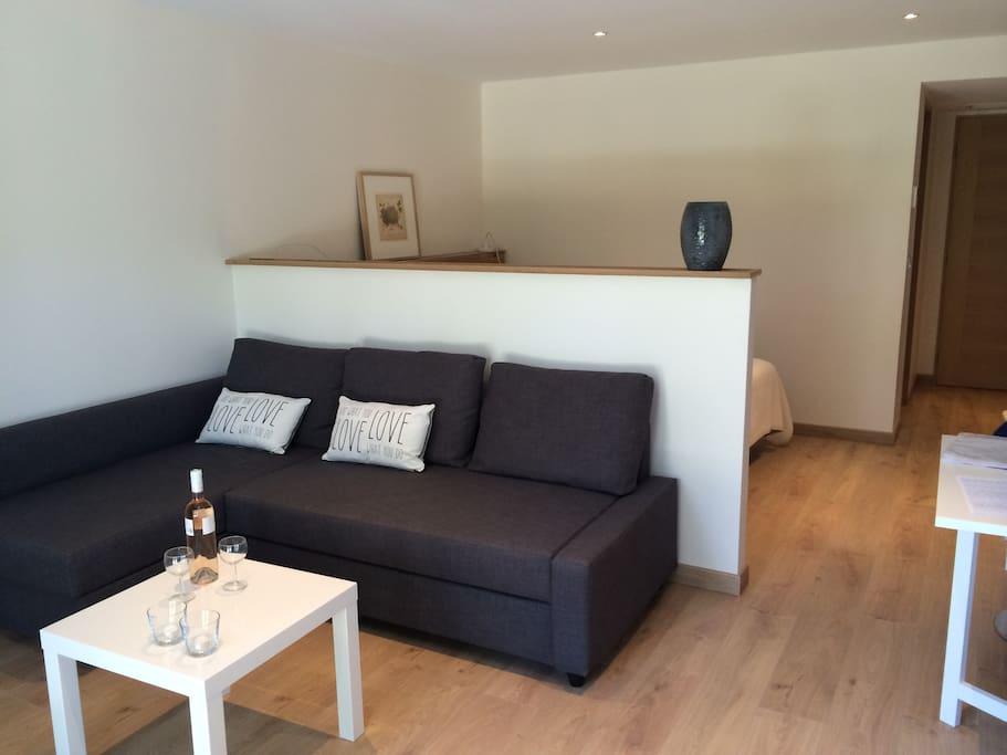 Charmant studio, confortable et cosy