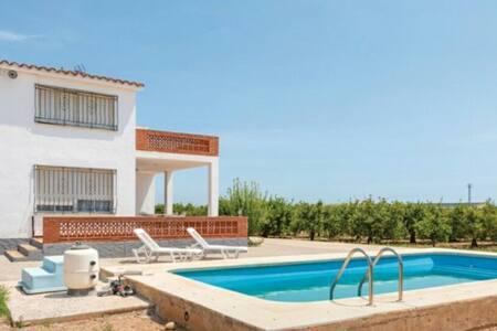 Casa rural vallada a 5 minutos de la playa