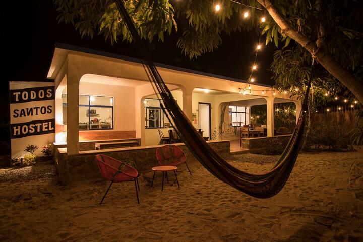 Bed in shared bedroom - Todos Santos Hostel