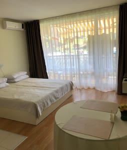 Sunny Beach ‼️Fort Noks «Orchid» new apartment