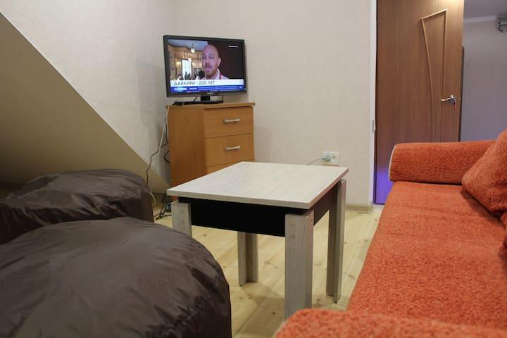 Красивая квартира с 4 спальными местами