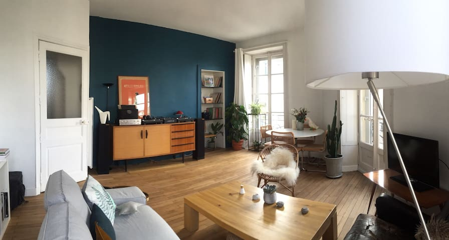 2bdr very bright, heart of the city - Nantes - Pis