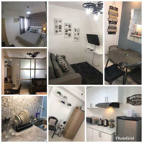 Cozy 1BR Condo Unit with WIFI & TV with Cable