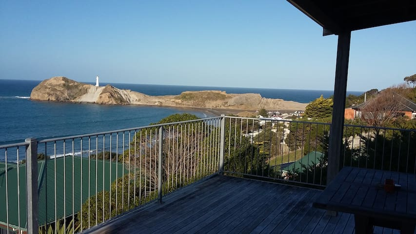Beach house with WOW factor - Castlepoint - Casa
