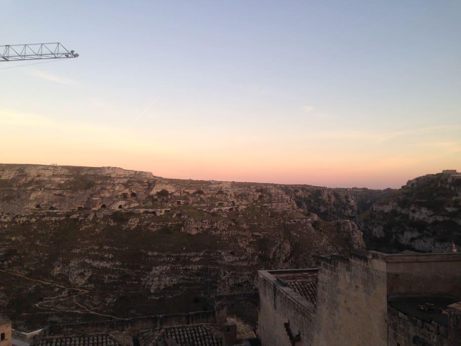 "Landscape of Matera ""Sassi"""