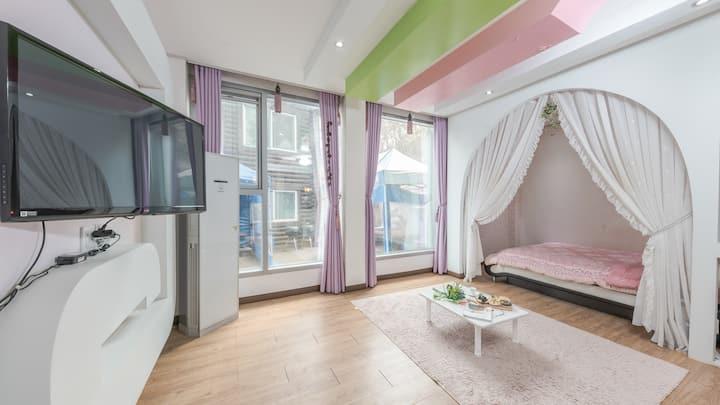 휴식과 낭만이 있는 초롬(1층) 객실