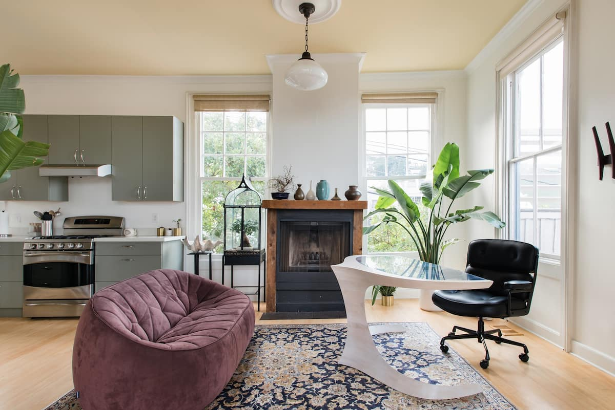 Serene Victorian with Views in Noe Valley