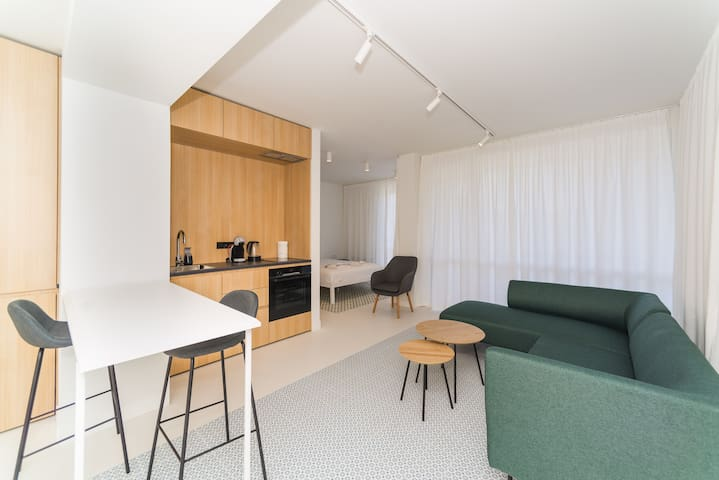 Luxorious apartment in a new building