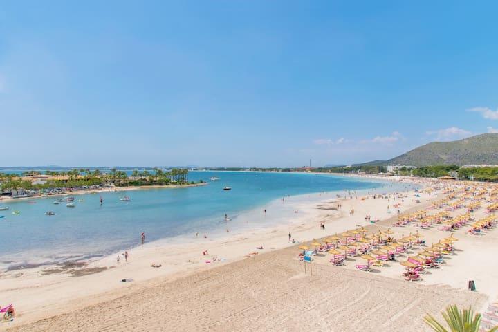 Pine Beach :) Tranquilo apt cerca de la playa