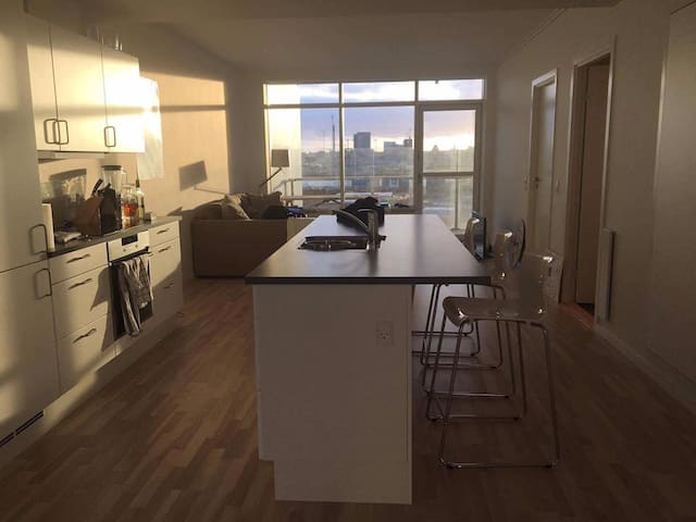 Modern and bright apartment at the harbour - Aarhus - Apartemen