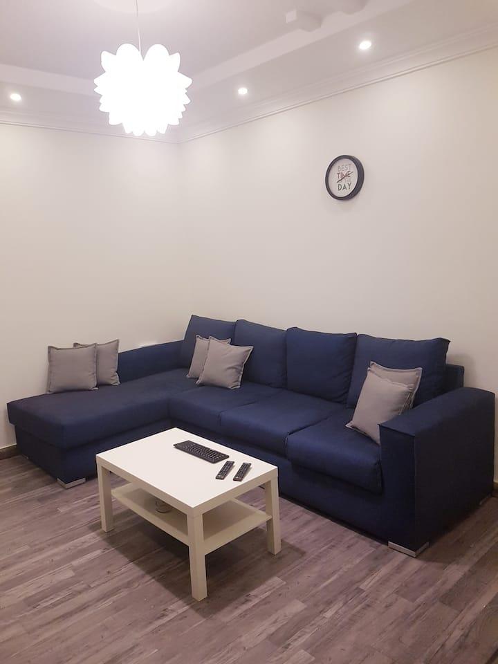 The unique apartment الشقة الفريدة من نوعها