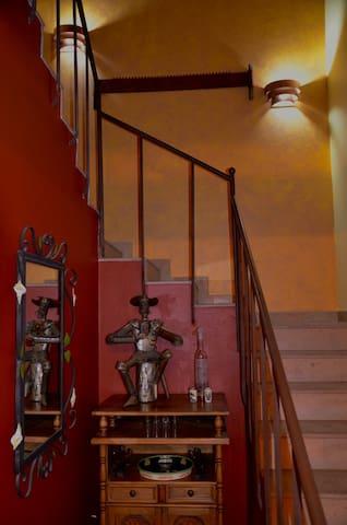 Bar/Stairway