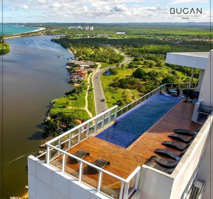 Luxo e Aconchego na Beira Mar